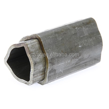 China Triangle Section Shape welding nickel tube and pipes spiral welded
