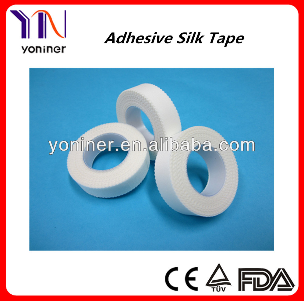 Adhesive Surgical silk plaster