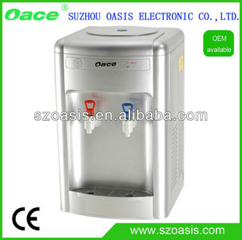 Compressor Cooling Table Type Aqua Water Dispenser
