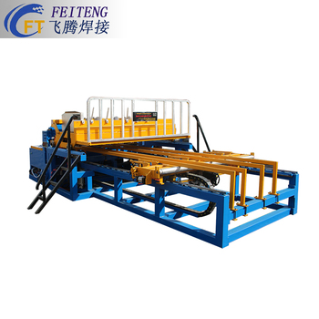 Wire mesh welding machine for panel fence