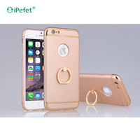 Many Colors Customized 360 Rotating Metal Finger Ring Holder pc bulk cell phone case for iphone6