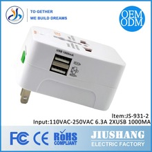 Factory Sale Best Quality Universal 5V 1A International USB Travel Electrical Adapter