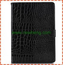 World best selling products genuine crocodile leather case for ipad air 2