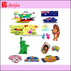 2016 custom manufacturer pvc fridge magnet