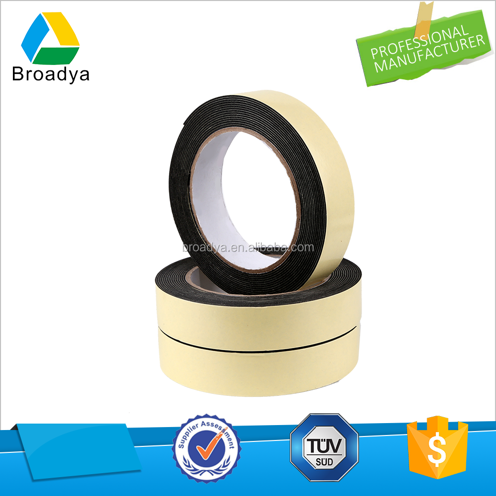 double sided PE foam tape with waterproof shock proof heat resistance sounds resistance weather resistance moistureproof