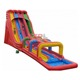 Giant Triple Inflatable Water Slides for adults, Customized Inflatable Slip N Slide with Water Pool