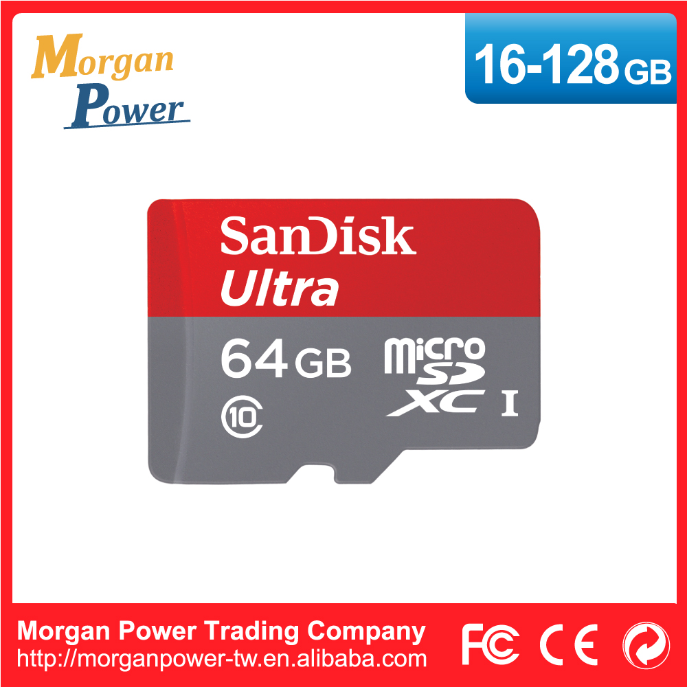 Genuine Goods SanDisk Ultra microSD Memory Card 80MB/s SQUNC 64GB