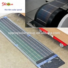 275W High Quality rollable amorphous silicon thin film flexible solar panel for RV boats marine