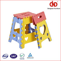 100% test trade assurance china factory kids plastic step stool