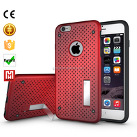 Top quality custom beautiful radiating mobile phone back cover for i phone 6