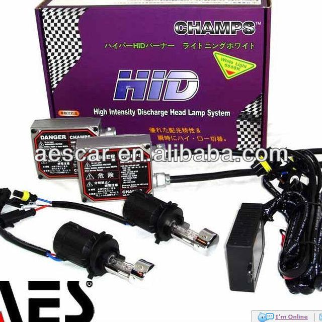 HID Xenon Kit series for car headlamp