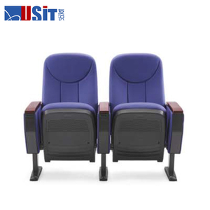 USIT UA-615A guangzhou home theater leather seat, movable legs lecture chairs, fabric cover chair removable