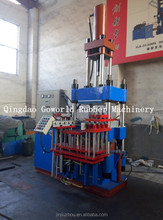Silicone rubber bracelet moulding machine / small injection moulding press machinery