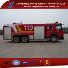High Quality Factory Price Euro4 15T Howo 6*4 Foam Water Tank Fire Truck