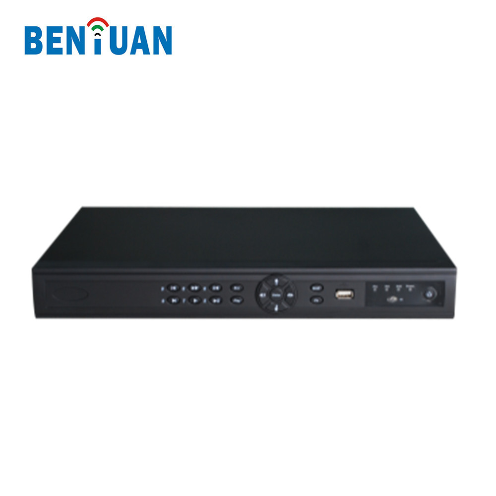 2 Sata HDD Network Video Recorder P2P Onvif 4CH 1080P NVR Support Cloud Storage