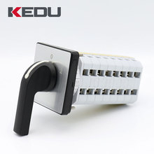 KEDU ZH-40 45A 8 Levels 3 Position Rotary Cam Switch With CQC VDE UL CE