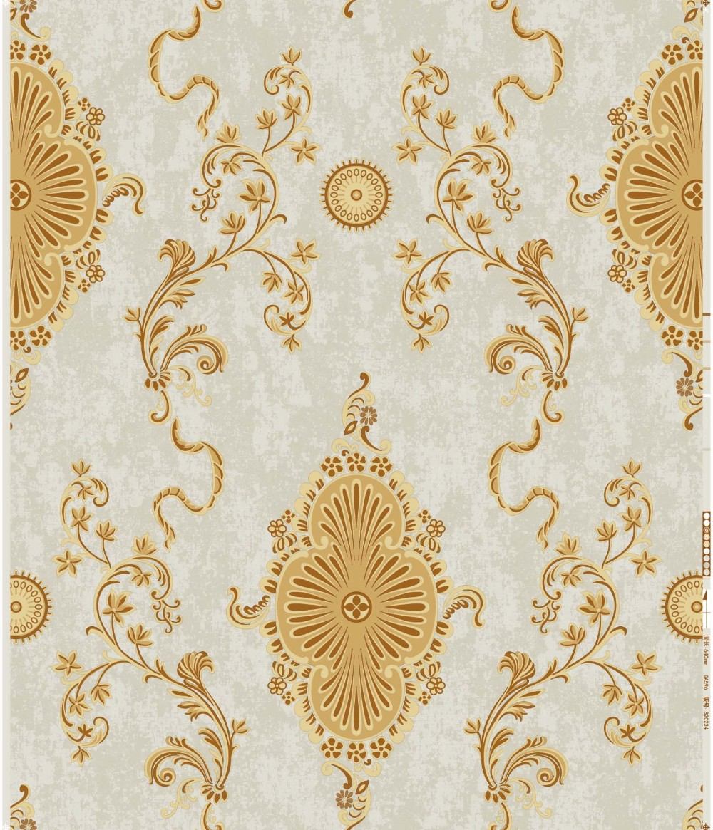 GOLOVE 2017 new designer for vinyl wallcovering wallpaper pvc NEW classic flower chea price HIGH QUALITY china