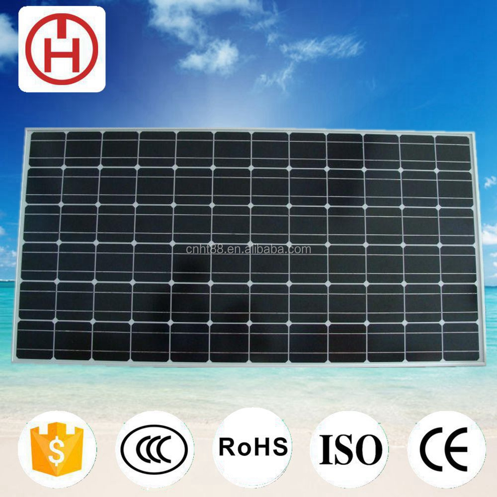 China factory 300w solar panel wholesale price list