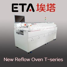 Economical reflow oven SMT 8 zones surface mount soldering machine for LED Board PCBA