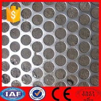 punching hole mesh punched plate screen oval perforated metal mesh