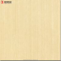 wood look polished porcelain yellow tile, vitrified ceramic floor tiles