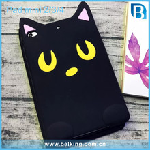New Case For Ipad Mini 2 3 4 3D Animal Cat Soft Silicone Rubber Case