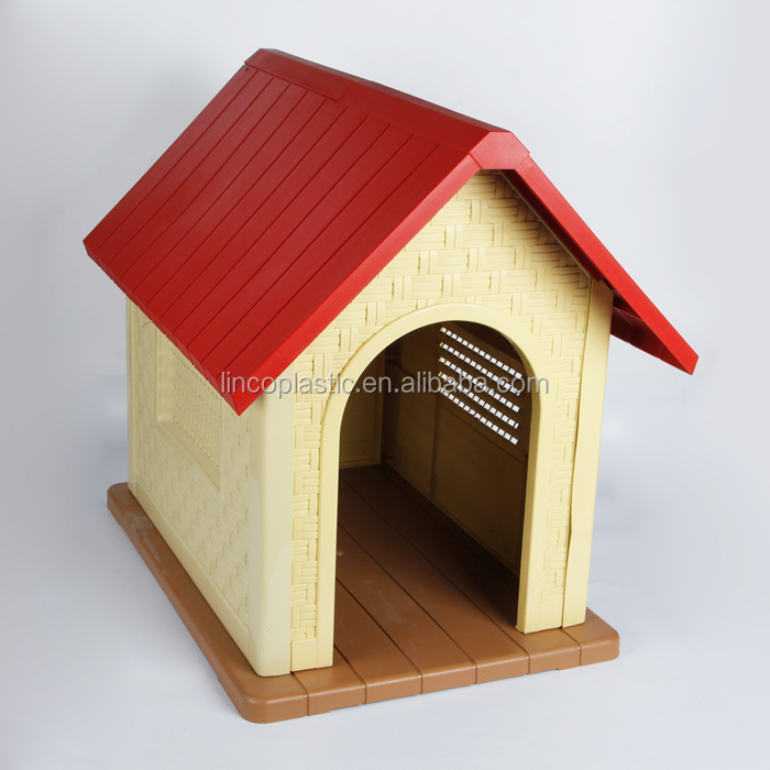 plastic pet tiny house ,indoor dog plastic house