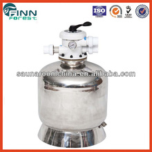 Lifetime over 10 years stainless steel 304 small size house and home use swimming pool water top mounted sand filter