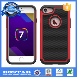 For Iphone 7 Case,Oem Pc+silicone Hybrid Mobile Phone Case For Iphone 7