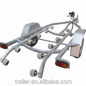 High Quality Hot Dipped Galvanized Jet Ski Trailer Used Loading Boat