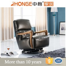 genuine leather new design recling lazy relaxing sofa chairs
