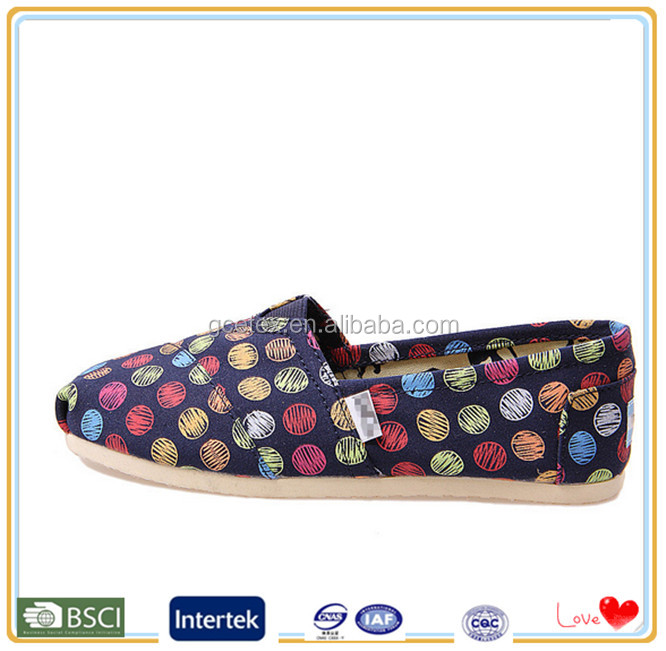 Printed colorful pattern american shoe manufacturer bangladesh
