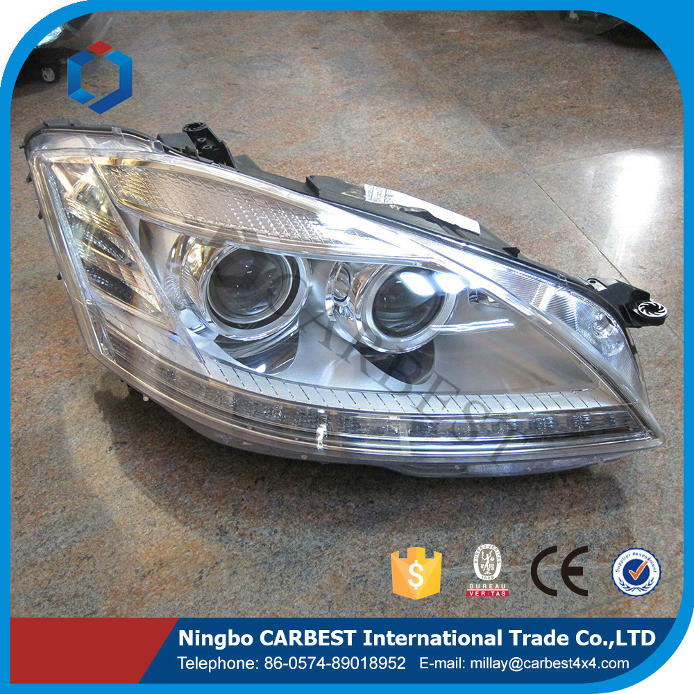 High Quality AMG Style S65 Led Car Head Lamp for Mercedes Benz W221 2013