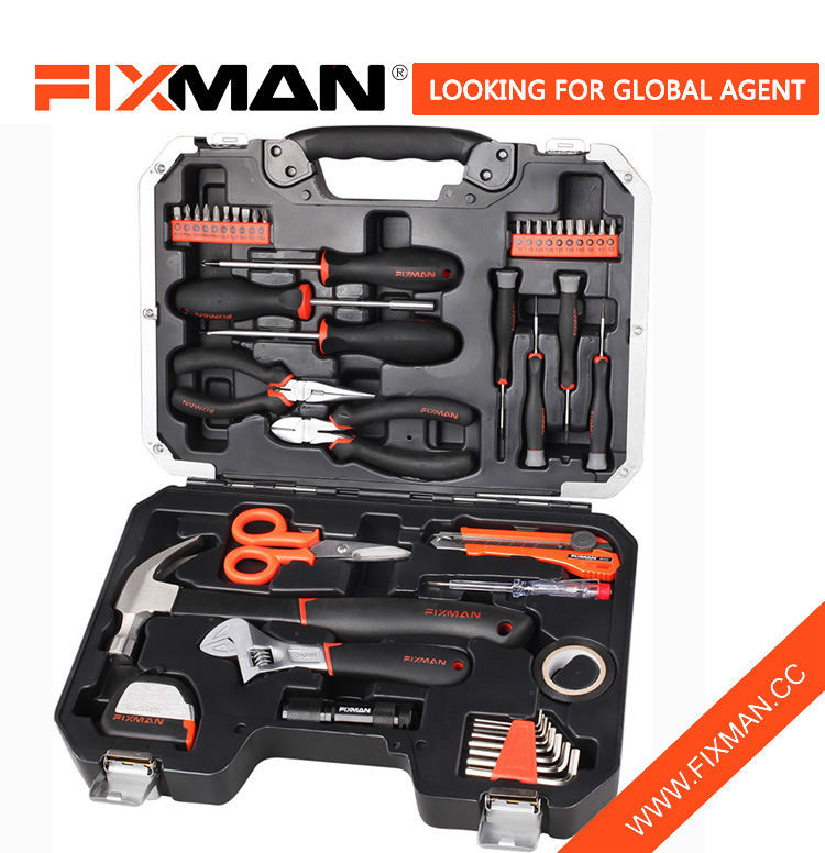 FIXMAN 45PCS Home hand tools function bike multi tool repair kit