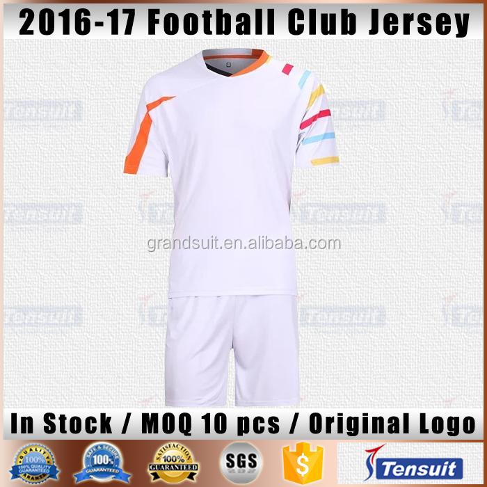 Best Thai Grade Quality Bulk Football Jerseys Color Combination Soccer Uniform Sets Kids Alibaba Trade Assurance Sportswear Kits