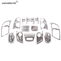 22pcs high quality Fit HILUX/VIGO HILUX VIGO 2012 body kit ABS CHROME Car body Kits accessories cars