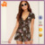 2017 New Design Sexy Floral Printed Cut Out Jumpsuit