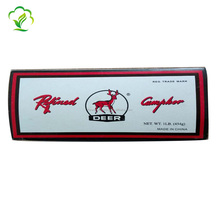 Smokeless 1/16 Deer Brand camphor block /tablets for high quality