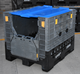 recycle foldable plastic storage box shipping container storage