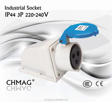 industrial plug socket 220v 16a 32a 3p industrial socket/surface mounted socket 2p+E 220-240V