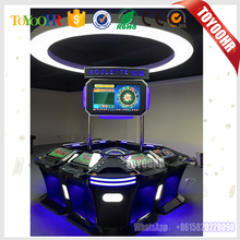 Popular 6/8/12 Players Coin Operated Electronic Casino Roulette Bingo Game Machine