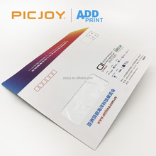 230*160mm Custom window envelope color printing for A5 size