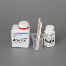 Hot sell Araldite 2020 crystal Transparent Epoxy resin AB glue