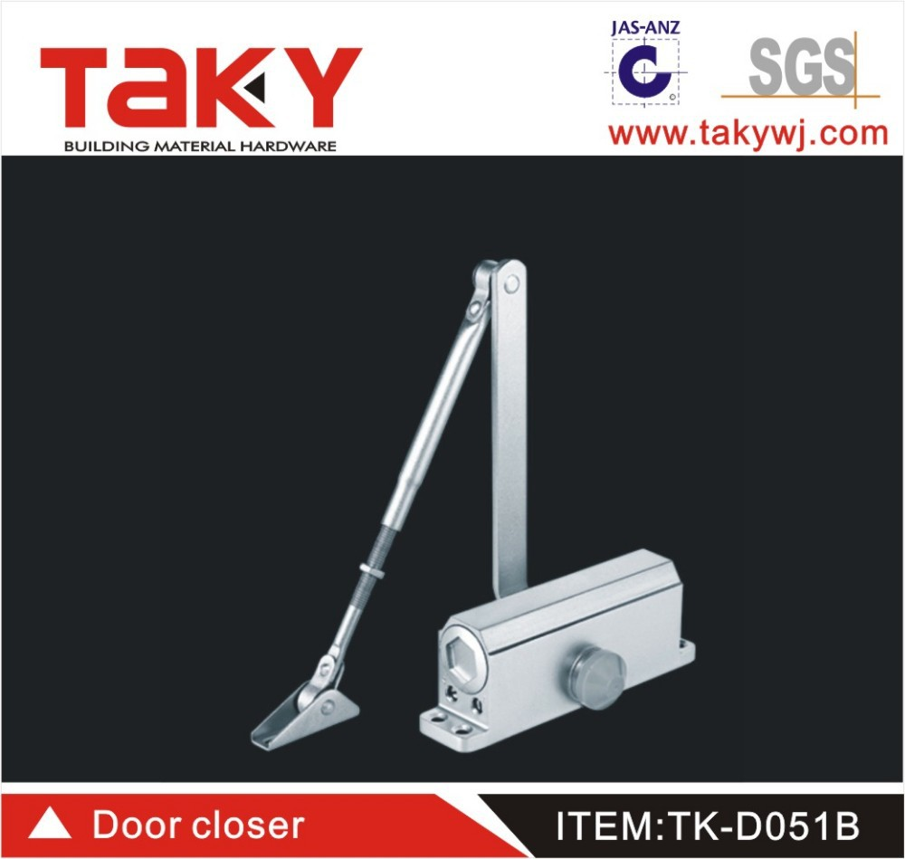 TK-D051B Auto door closer with spring can print logo