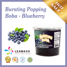 Taiwan 3.2Kg/450g Blueberry Popping Boba for Bubble Milk Tea