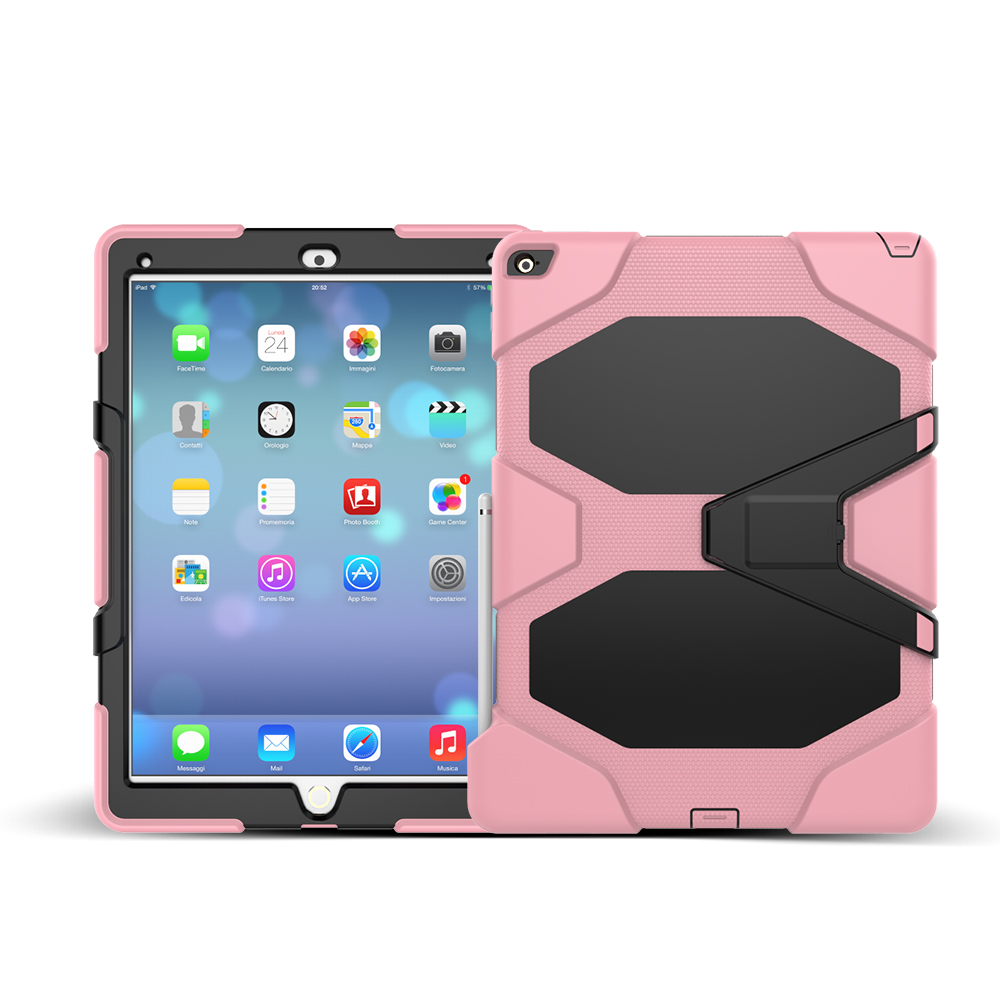 Fashional Rugged Silicone Shockproof Tablet Case for iPad Pro Cover