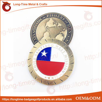 CHILE Missionary challenge coin