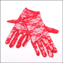 New Hot Sale Evening Party Lace Bridal Gloves for Weddings