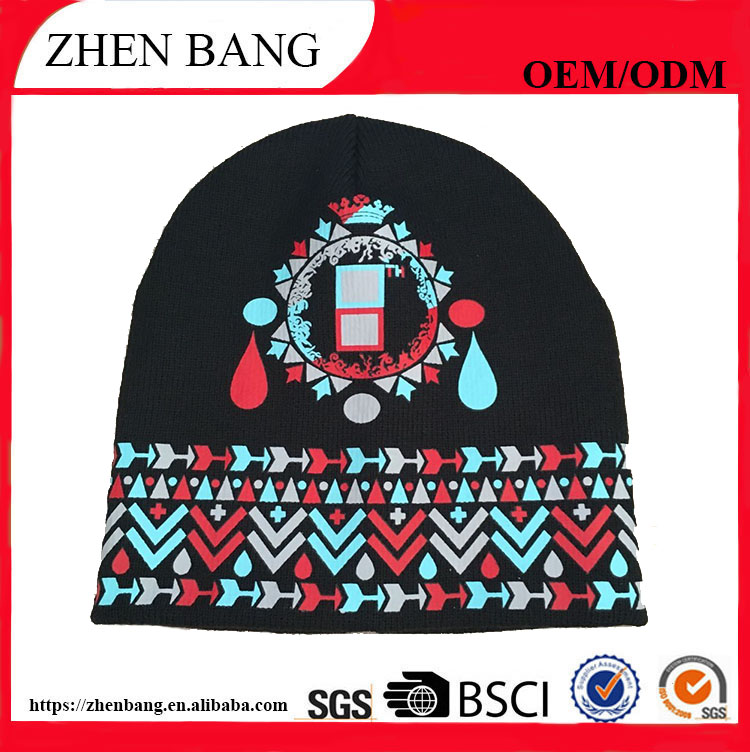 Promotion price custom beanie hat from china