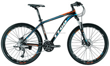 TTGO M9-BL model aluminium alloy bicycle, 26 inch 27 speed MTB bike made in china, front suspension mountain bicicletas
